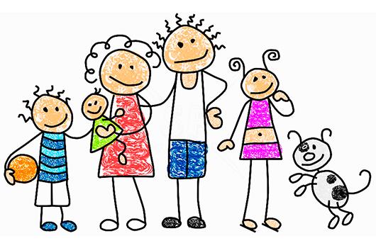 familia felices